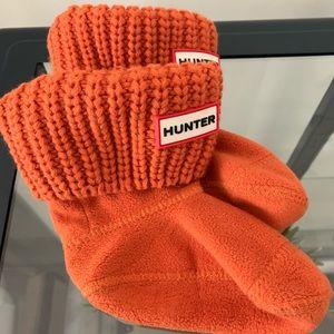Hunter fleece socks for hunter rain boots
